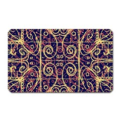 Tribal Ornate Pattern Magnet (rectangular) by dflcprints