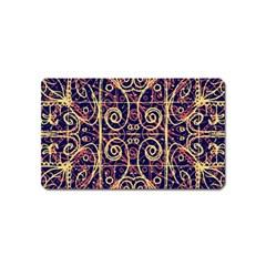 Tribal Ornate Pattern Magnet (Name Card)