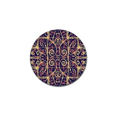 Tribal Ornate Pattern Golf Ball Marker by dflcprints