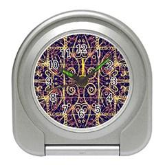 Tribal Ornate Pattern Travel Alarm Clocks by dflcprints