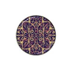 Tribal Ornate Pattern Hat Clip Ball Marker (10 pack)