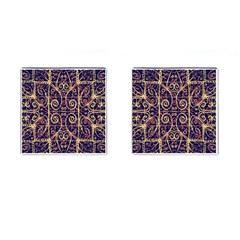Tribal Ornate Pattern Cufflinks (Square)