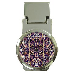 Tribal Ornate Pattern Money Clip Watches by dflcprints