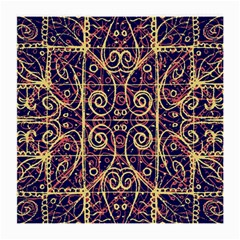 Tribal Ornate Pattern Medium Glasses Cloth (2 Side) by dflcprints