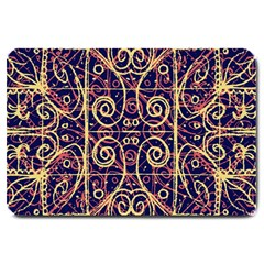 Tribal Ornate Pattern Large Doormat  by dflcprints