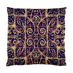 Tribal Ornate Pattern Standard Cushion Case (One Side)