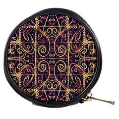 Tribal Ornate Pattern Mini Makeup Bags