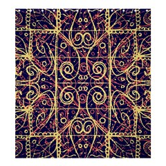 Tribal Ornate Pattern Shower Curtain 66  X 72  (large)  by dflcprints