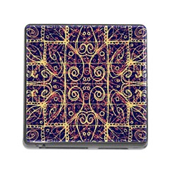 Tribal Ornate Pattern Memory Card Reader (Square)