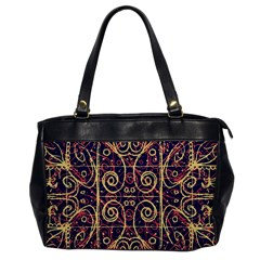Tribal Ornate Pattern Office Handbags by dflcprints