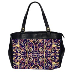 Tribal Ornate Pattern Office Handbags (2 Sides)  by dflcprints