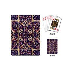 Tribal Ornate Pattern Playing Cards (Mini)