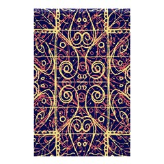 Tribal Ornate Pattern Shower Curtain 48  X 72  (small)  by dflcprints