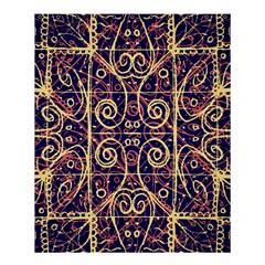 Tribal Ornate Pattern Shower Curtain 60  x 72  (Medium)