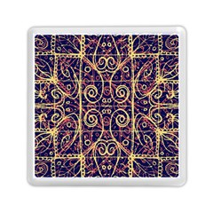 Tribal Ornate Pattern Memory Card Reader (square)  by dflcprints
