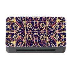 Tribal Ornate Pattern Memory Card Reader with CF