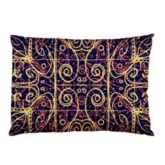 Tribal Ornate Pattern Pillow Case (Two Sides)