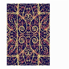 Tribal Ornate Pattern Small Garden Flag (Two Sides)