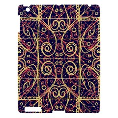 Tribal Ornate Pattern Apple Ipad 3/4 Hardshell Case by dflcprints