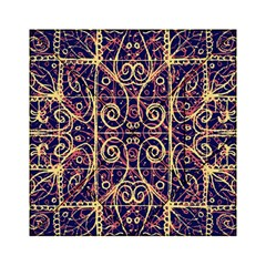 Tribal Ornate Pattern Acrylic Tangram Puzzle (6  X 6 ) by dflcprints