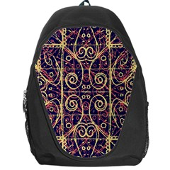 Tribal Ornate Pattern Backpack Bag by dflcprints