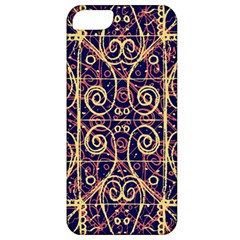 Tribal Ornate Pattern Apple Iphone 5 Classic Hardshell Case by dflcprints