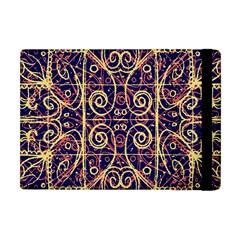 Tribal Ornate Pattern Apple iPad Mini Flip Case