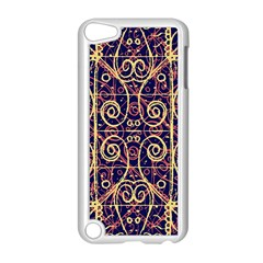 Tribal Ornate Pattern Apple iPod Touch 5 Case (White)