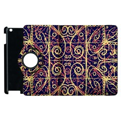 Tribal Ornate Pattern Apple Ipad 3/4 Flip 360 Case by dflcprints