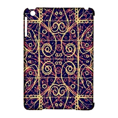 Tribal Ornate Pattern Apple iPad Mini Hardshell Case (Compatible with Smart Cover)