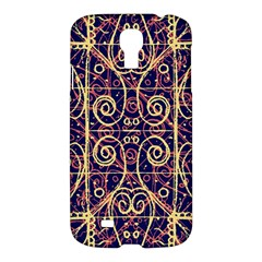 Tribal Ornate Pattern Samsung Galaxy S4 I9500/i9505 Hardshell Case by dflcprints
