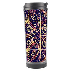 Tribal Ornate Pattern Travel Tumbler by dflcprints