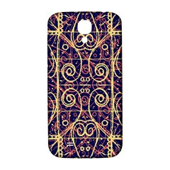 Tribal Ornate Pattern Samsung Galaxy S4 I9500/i9505  Hardshell Back Case by dflcprints