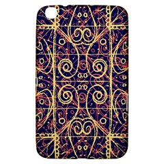 Tribal Ornate Pattern Samsung Galaxy Tab 3 (8 ) T3100 Hardshell Case  by dflcprints