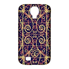 Tribal Ornate Pattern Samsung Galaxy S4 Classic Hardshell Case (pc+silicone) by dflcprints