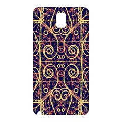 Tribal Ornate Pattern Samsung Galaxy Note 3 N9005 Hardshell Back Case
