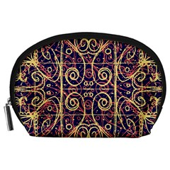 Tribal Ornate Pattern Accessory Pouches (large)  by dflcprints