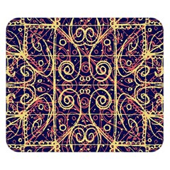 Tribal Ornate Pattern Double Sided Flano Blanket (Small)