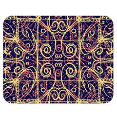 Tribal Ornate Pattern Double Sided Flano Blanket (medium)  by dflcprints