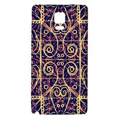 Tribal Ornate Pattern Galaxy Note 4 Back Case by dflcprints