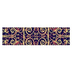 Tribal Ornate Pattern Satin Scarf (oblong) by dflcprintsclothing