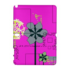 Flowers and squares        HTC Desire 601 Hardshell Case by LalyLauraFLM