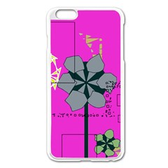 Flowers And Squares        Apple Iphone 6/6s Leather Folio Case by LalyLauraFLM