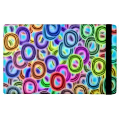 Colorful ovals        Kindle Fire (1st Gen) Flip Case by LalyLauraFLM