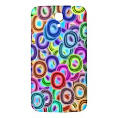 Colorful Ovals        Samsung Galaxy Note 4 Pu Leather Hardshell Back Case by LalyLauraFLM