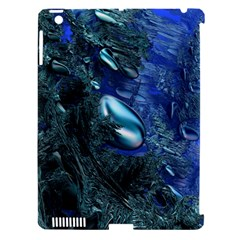 Shiny Blue Pebbles Apple Ipad 3/4 Hardshell Case (compatible With Smart Cover) by linceazul