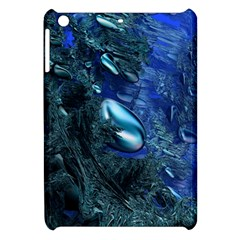 Shiny Blue Pebbles Apple Ipad Mini Hardshell Case by linceazul