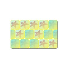 Starfish Magnet (name Card) by linceazul