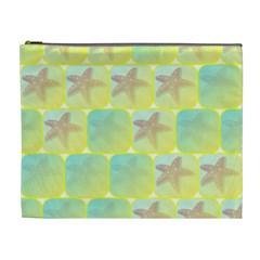 Starfish Cosmetic Bag (xl) by linceazul