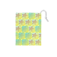 Starfish Drawstring Pouches (small)  by linceazul